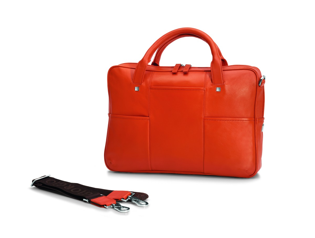 3475de395ae6 Luxusní italská kožená taška na notebook