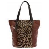 CAPOVERSO | Módní kabelka s exotickým levhartím vzorem