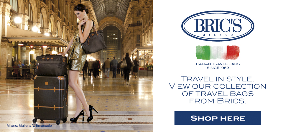 Brics Milano luxury travel bags