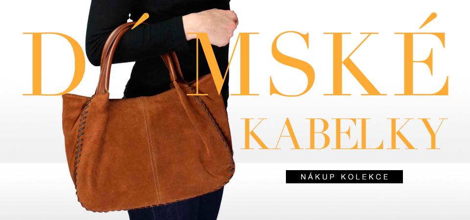 Luxusní damské kožene kabelky